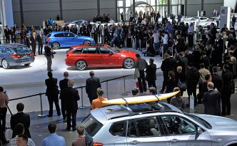 Auch für die Messe 2014 werden wieder zahlreiche Welt-, Europa- und Deutschlandpremieren erwartet. (Foto: Messe Leipzig)