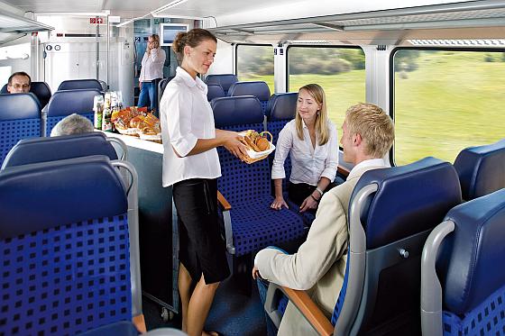 Im Blickpunkt der InnoTrans 2014: Travel Catering & Comfort Services erstmals mit eigener Themenroute. (Bild: Messe Berlin)