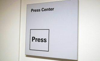 Aussteller können Pressemappen im Pressezentrum der Messegesellschaften auslegen.